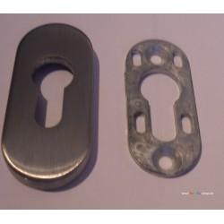 Schutzrosette oval 8mm mit...